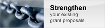 Strengthen Your Existing Grant Proposals